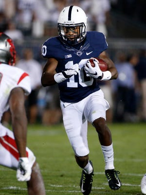 Brandon Polk's speed and big-play ability have been talked about for three years. Will he finally start delivering regularly in 2018? A preview may come in Saturday's Blue-White Game.
