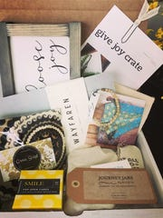 Give Joy Crates feature items hand-picked to inspire