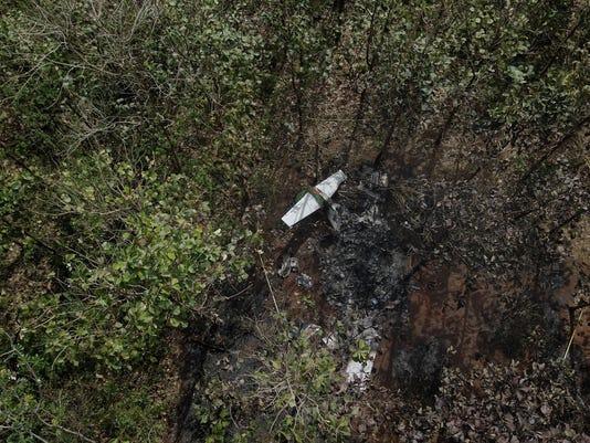 APTOPIX Costa Rica Plane Crash