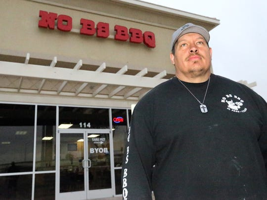 Brehan Goodwin is one of  the owners of No BS BBQ at 1920 N. Zaragoza.