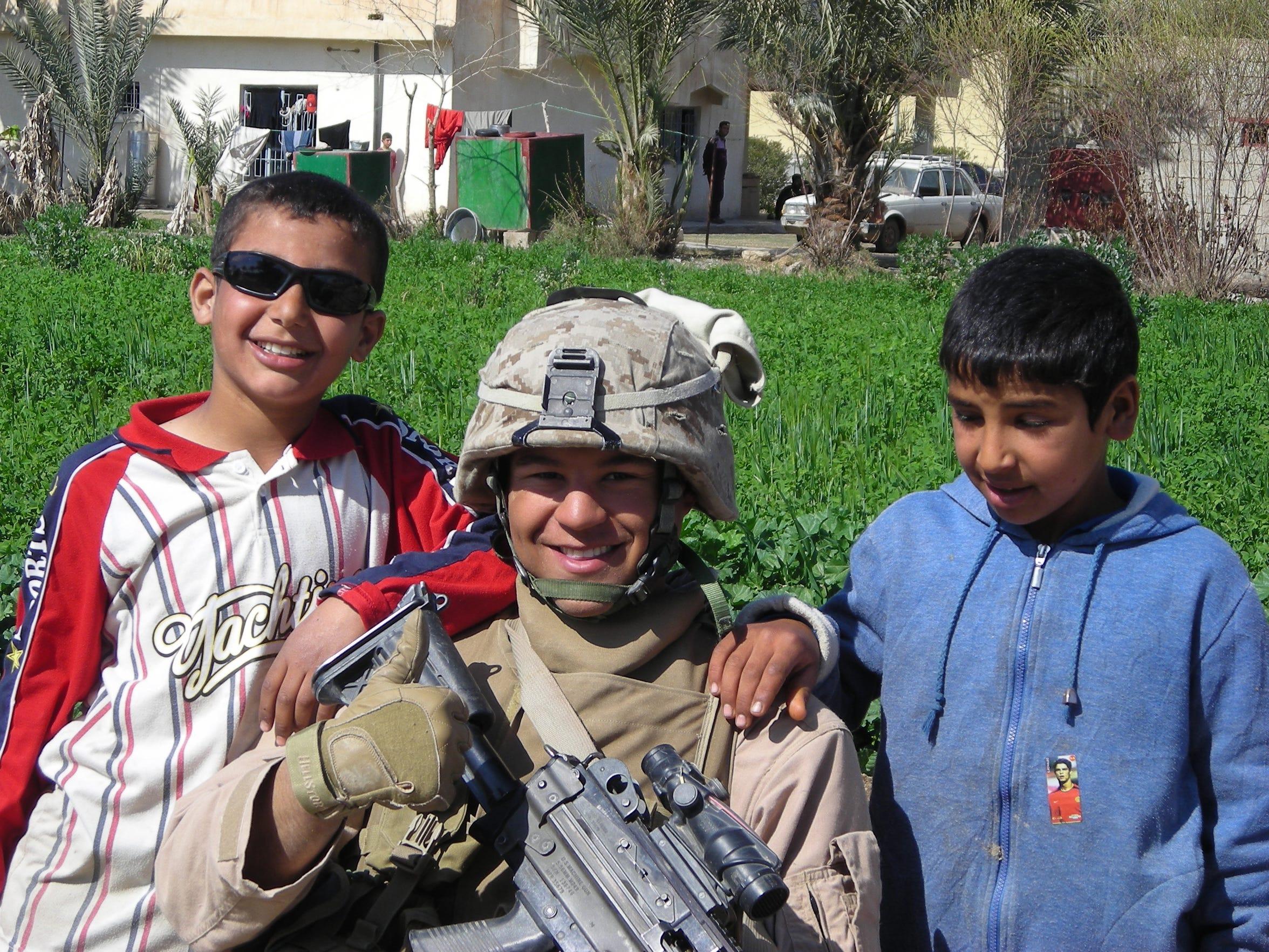 LIVE Cpl. Richard McShan in Iraq