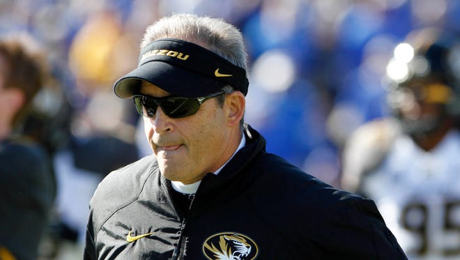 """""""Any one-loss team in the SEC, based on strength of schedule, people should look at that and take that into consideration,"""" Missouri coach Gary Pinkel says."""