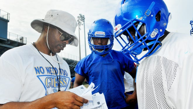 Titusville High hosted Lake Highland Prep in Titusville on Friday night.