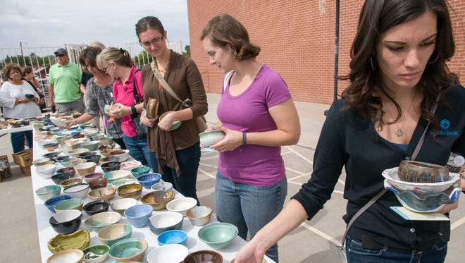The Empty Bowls annual fundraising event for El Caldito Soup Kitchen takes place from 11 a.m. to 2 p.m. Friday, Oct. 21 at St. Paul's United Methodist Church, 225 W. Griggs Ave.