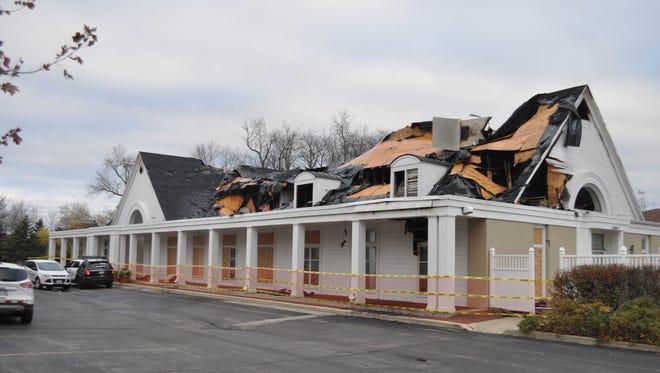 A fire destroyed the Charter Steel building on Glen Oak Lane on Oct. 30.