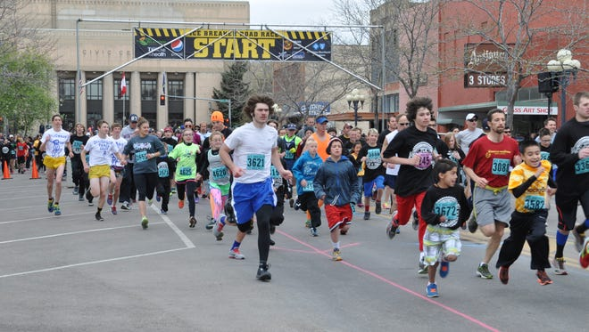 This year's Ice Breaker run is scheduled for April 22.