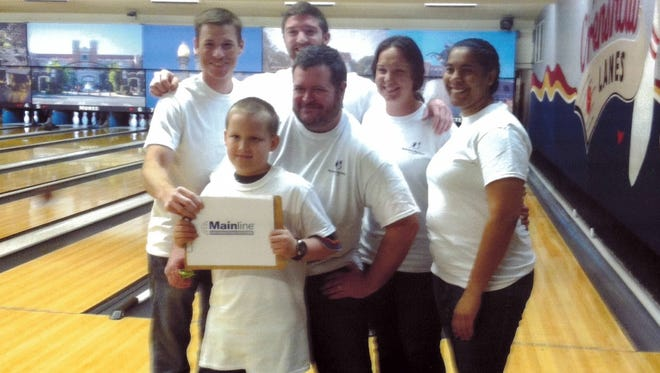 "Employees at Mainline Information Systems participated sponsored the Big Brothers Big Sisters ""Bowl for Kids Sake"" event."