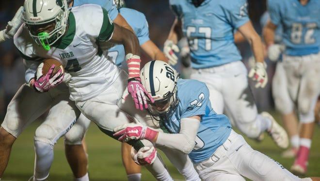 Football: Camden Catholic vs. Shawnee.  10.13.17