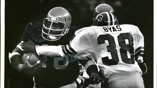 Pete Johnson was a bruising runner for the Bengals that helped the team to its first Super Bowl.