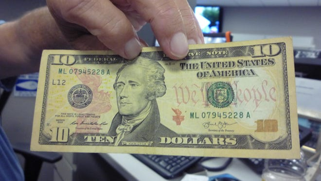 The U.S. Treasury announced to redesign the $10 bill, featuring a female face.