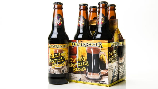 Weyerbacher Brewing Company, based in Easton, will bring its Sunday Morning Stout to BrewVino in Dover on Feb. 9.