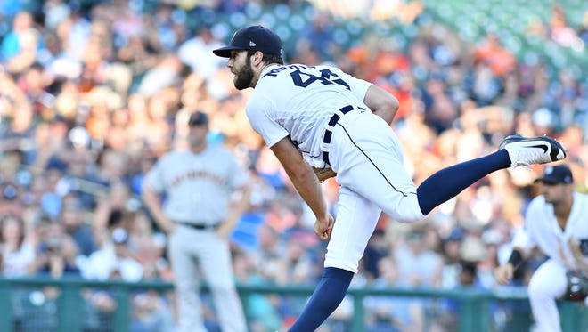 Tigers pitcher Daniel Norris has given up 15 runs over his last three starts.