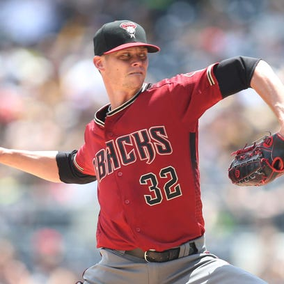 Jun 24, 2018: Arizona Diamondbacks starting pitcher
