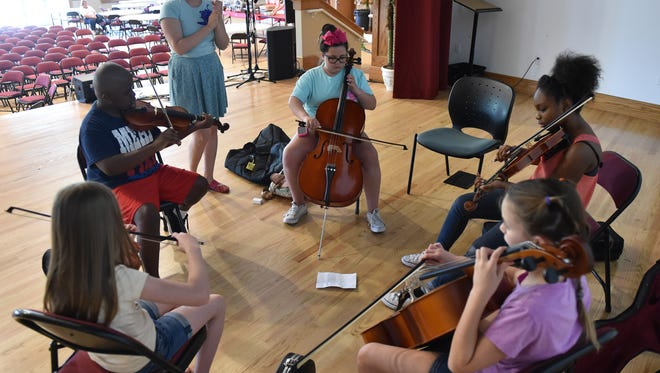 Mike Block String Camp returns to Vero Beach July 9-14. Camp participants perform concerts open to the public, most of them free.