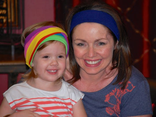 Meryll Rose wore headbands shortly after her 2012 surgery