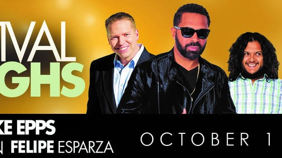 The Festival of Laughs comes to Fresno Oct. 1.