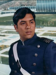 Alfredo Sandoval as a senior at the U.S. Air Force Academy.