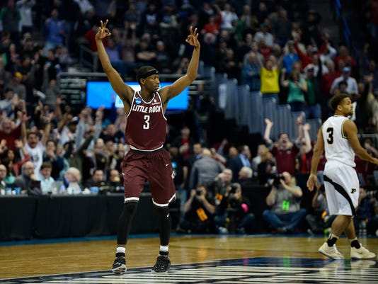 NCAA Basketball: NCAA Tournament-Purdue vs Arkansas Little Rock