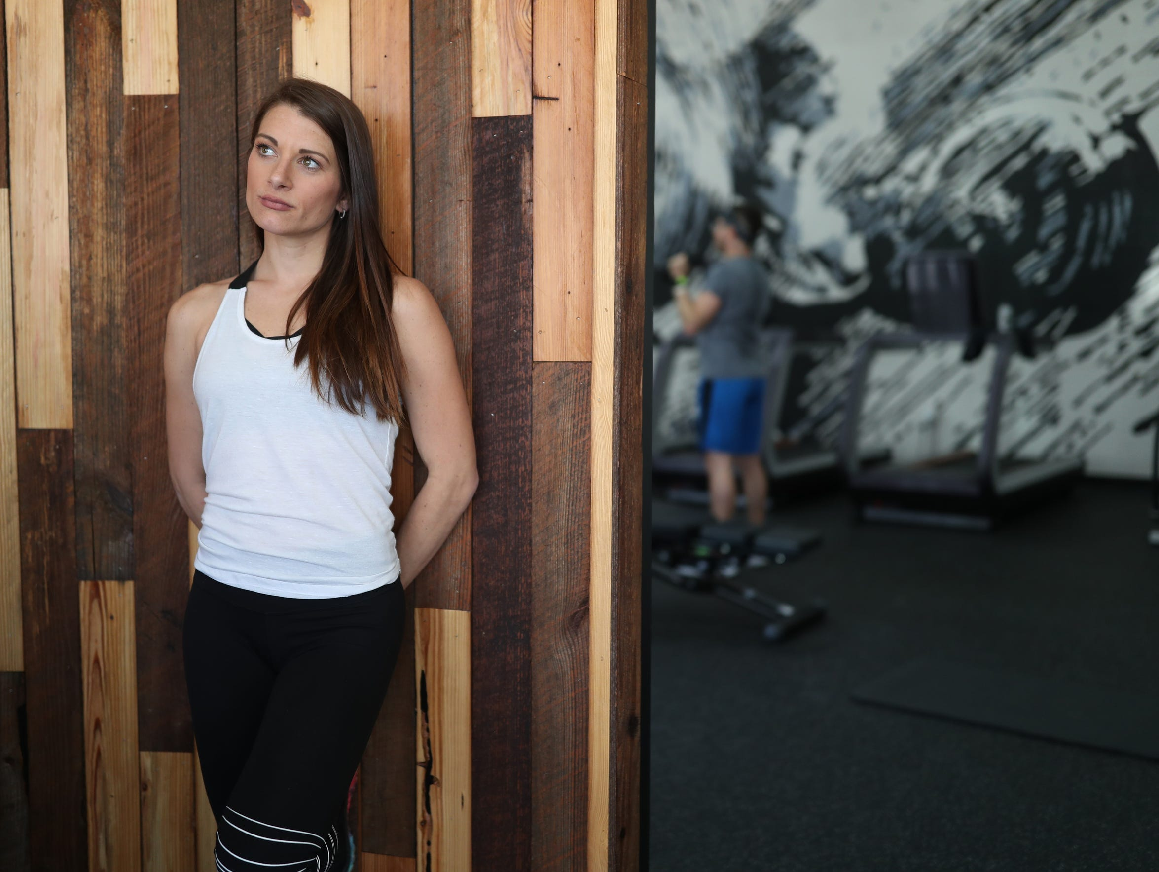 Jackie Chelly, who owns the franchise fitness center