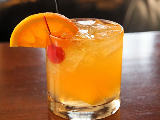 An Old Fashioned with a summer touch.