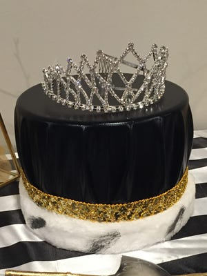 Crowns for the Hagerstown prom king and queen re displayed before the school's prom in 2017.