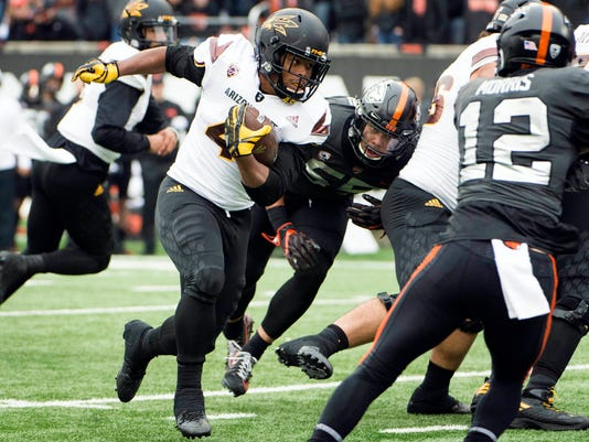 NCAA Football: Arizona State at Oregon State