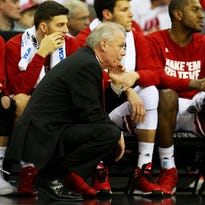 Bo Ryan, here coaching the Wisconsin Badgers during the 2015 NCAA Tournament, announced Monday that he will retire after the upcoming season.