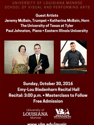 VAPA to host guest artists on trumpet, horn and piano