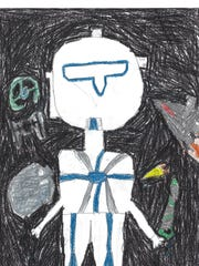 This year for Halloween I'm going to be on of Jedi's assistants because I love Star Wars. I have been Scooby Doo and Batman and Jedi too. My favorite costume is Jedi because Star Wars is the most awesome TV show I've ever watched. Louis Meredith, grade 3 St. Joseph School