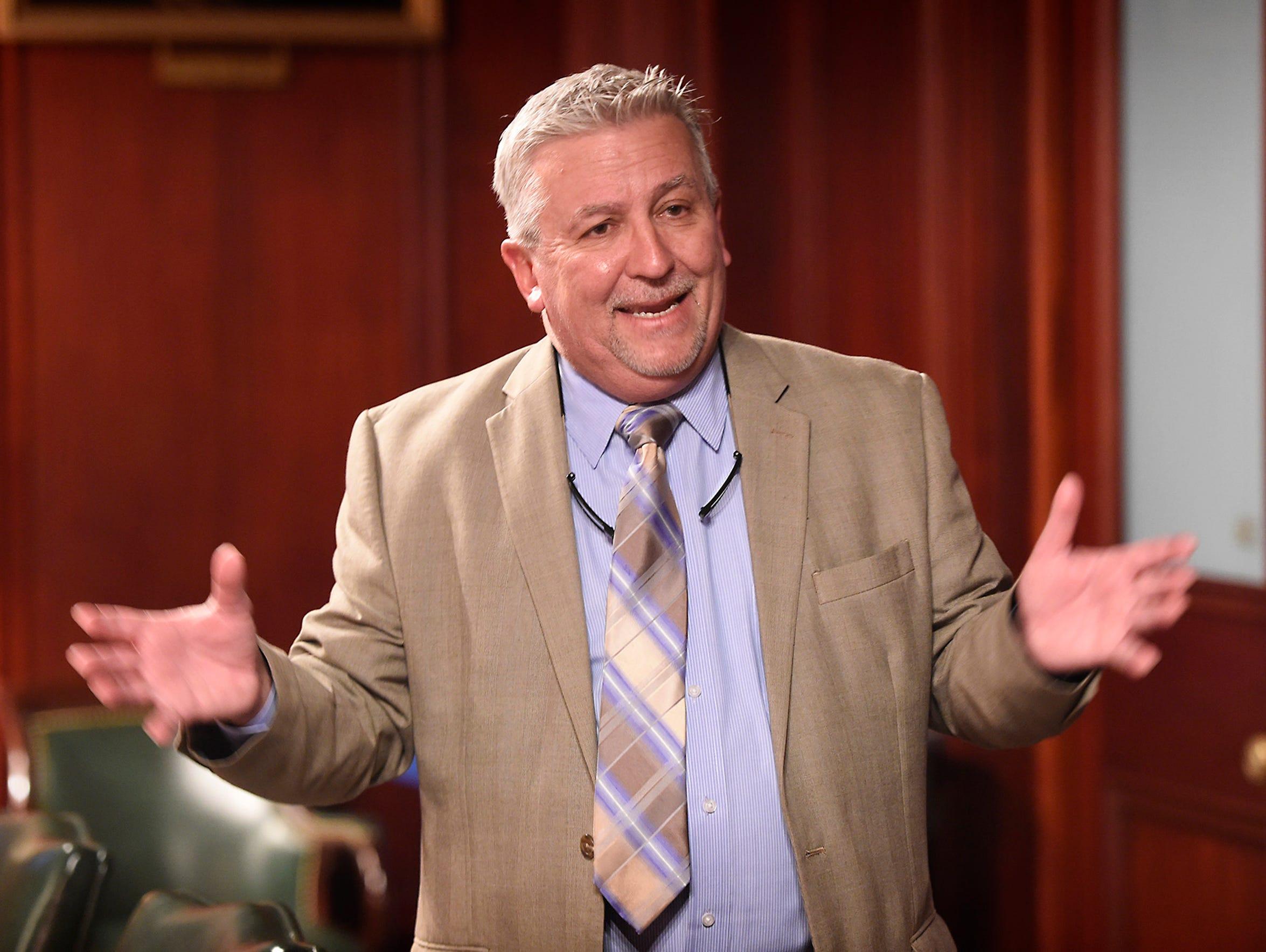Senator Mike Folmer, R-48, a three-term state senator,