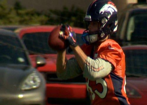 PHOTOS: Broncos wide receiver Wes Welker