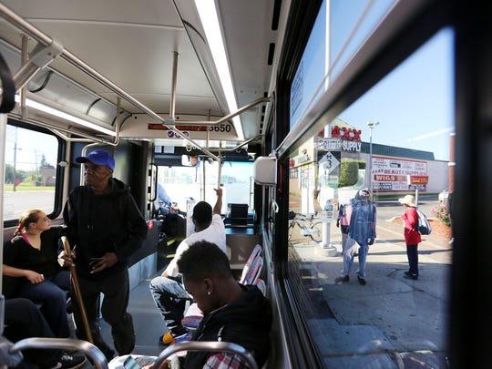 refleX is a new bus service on the Gratiot corridor