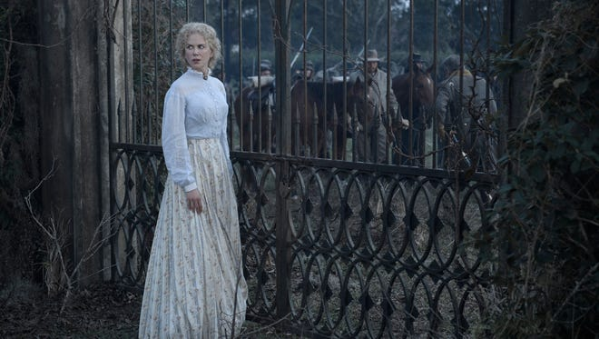 Miss Martha (Nicole Kidman) tries to keep the war outside the gates out her Virginia girls' school in 'The Beguiled.'