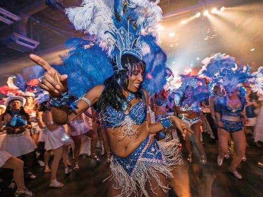 Carnaval in Austin is one of the biggest Brazilian