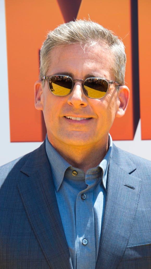 Actor Steve Carell.