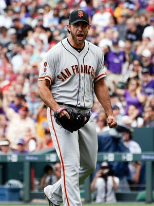 Madison Bumgarner is 6-1 with a 1.27 ERA in his last nine starts.