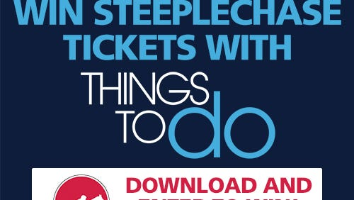 You have a chance to win Steeplechase tickets by downloading the Things to Do Nashville app.