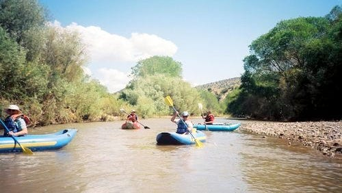 Kayaking is something that people attending the Gila River Festival can do during the week of Sept. 21-24 in Silver City.