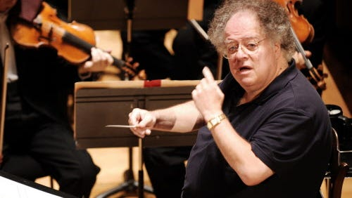 Conductor James Levine is suing the Metropolitan Opera.