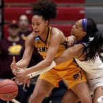 NCAA women's tournament: Central Michigan wins first-ever, upsets LSU