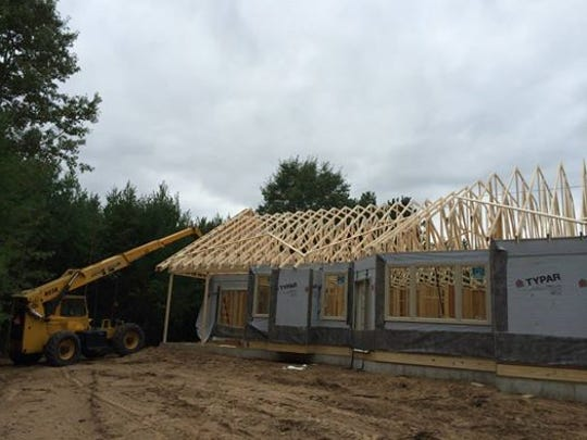 Erbes Construction builds a home at 2535 Peppertree Place in the village of Plover.