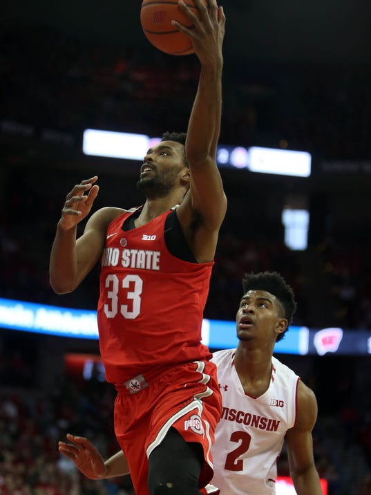 NCAA Basketball: Ohio State at Wisconsin