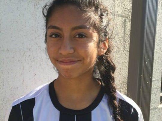 Smyrna's Ashley Barrientos.