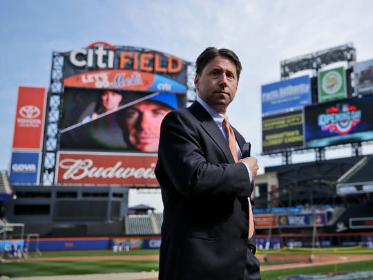 Jeff Wilpon at Citi Field in 2015
