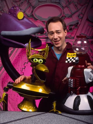 "Joel Hodgson in the original run of ""Mystery Science Theater 3000."""