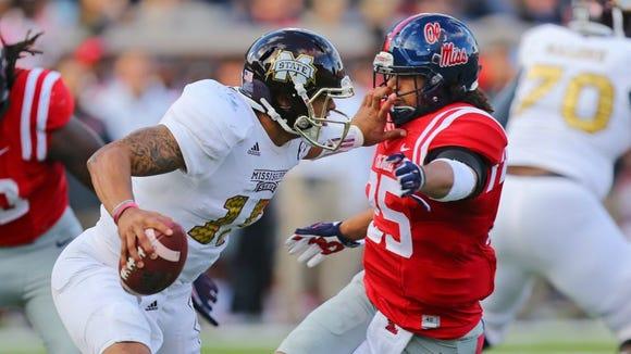 Mississippi State quarterback Dak Prescott prepares for his final season in Starkville.