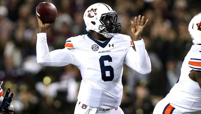 Jeremy Johnson completed his first nine passes in last week's 26-10 win at Texas A&M.
