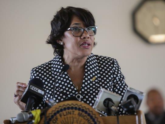 Flint Mayor Karen Weaver gives her State of the City