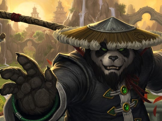"""A still from """"World of Warcraft"""" demonstrates video"""