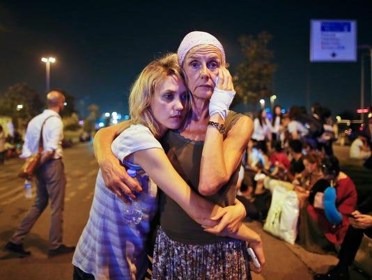 AP APTOPIX TURKEY AIRPORT BLASTS I TUR